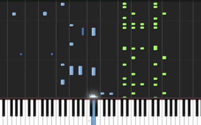 Apprendre le piano avec SYNTHESIA, comment ça marche ?